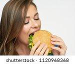 close up portrait of woman...   Shutterstock . vector #1120968368