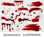 vector illustration set of... | Shutterstock .eps vector #1120969043