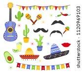 vector illustration set of... | Shutterstock .eps vector #1120969103