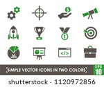 startup simple vector icons in...