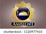 shiny emblem with special food ... | Shutterstock .eps vector #1120977410