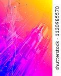 futuristic smart metropolis...   Shutterstock .eps vector #1120985570
