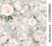 watercolor seamless pattern of... | Shutterstock . vector #1120988084