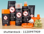 set of insect repellent... | Shutterstock . vector #1120997909
