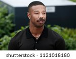 Small photo of CANNES, FRANCE - MAY 12: Michael B. Jordan attends the photo-call of 'Farenheit 451' during the 71st Cannes Film Festival on May 12, 2018 in Cannes, France.