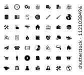 web icons set for computer.... | Shutterstock .eps vector #1121038496