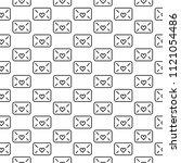 vector seamless pattern of... | Shutterstock .eps vector #1121054486