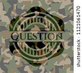 question written on a... | Shutterstock .eps vector #1121061470