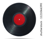 gramophone record long played... | Shutterstock . vector #1121066390