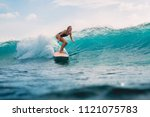 Beautiful Surfer Girl On...