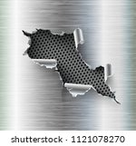 ragged hole torn in ripped...   Shutterstock .eps vector #1121078270