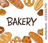 a signboard  a logo  a template ... | Shutterstock .eps vector #1121101793