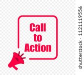 call to action message quote in ... | Shutterstock .eps vector #1121119556