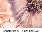art and gold. natural luxury.... | Shutterstock . vector #1121126660
