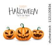 happy halloween day.   Shutterstock .eps vector #1121130836