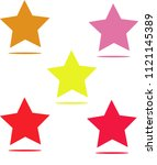star icon separated classic row ...