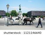 vienna  austria   july 13  2018 ... | Shutterstock . vector #1121146640