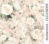 watercolor seamless pattern of... | Shutterstock . vector #1121148350