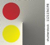seamless psychedelic design.... | Shutterstock .eps vector #1121156198