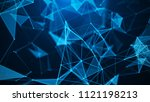abstract digital background.... | Shutterstock . vector #1121198213