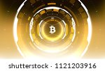 golden bitcoin cryptocurrency...