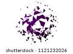 light purple vector of small... | Shutterstock .eps vector #1121232026