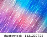 light blue  red vector texture... | Shutterstock .eps vector #1121237726