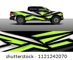 truck and car graphic...   Shutterstock .eps vector #1121242070