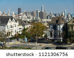 san francisco  california  ... | Shutterstock . vector #1121306756
