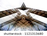 collage photo of modern...   Shutterstock . vector #1121313680