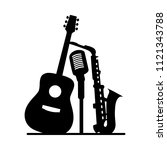 music jazz band icon. group of... | Shutterstock .eps vector #1121343788