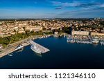 city of pula aerial view from... | Shutterstock . vector #1121346110