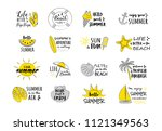 summertime   funny typography... | Shutterstock .eps vector #1121349563