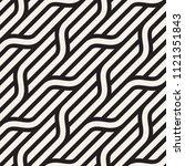 vector seamless pattern. modern ... | Shutterstock .eps vector #1121351843