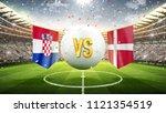 Croatia Vs Denmark. Soccer...