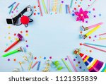 concept birthday party | Shutterstock . vector #1121355839