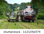 poland   elblag canal  ... | Shutterstock . vector #1121356574