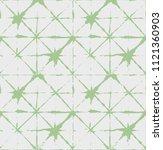 green  gray dark kimono geo... | Shutterstock .eps vector #1121360903