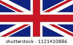 vector of the united kingdom... | Shutterstock .eps vector #1121410886