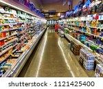 roseville  ca   may 8  3018 ... | Shutterstock . vector #1121425400