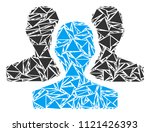 users collage of triangle... | Shutterstock .eps vector #1121426393