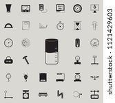 liquid density meter icon.... | Shutterstock .eps vector #1121429603