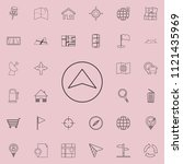cursor navigator icon. detailed ...