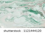 marble abstract acrylic... | Shutterstock . vector #1121444120