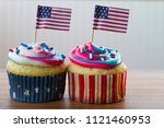 happy 4th of july conceptual... | Shutterstock . vector #1121460953