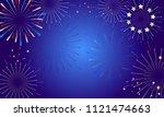 2019 fireworks festival pattern ...   Shutterstock .eps vector #1121474663