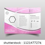 brochure design  brochure... | Shutterstock .eps vector #1121477276