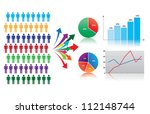 market research and statistics  ...   Shutterstock .eps vector #112148744