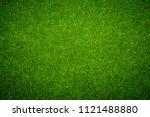 green grass background   Shutterstock . vector #1121488880