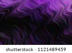dark purple vector template... | Shutterstock .eps vector #1121489459